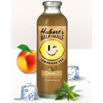 Hubert's Lemonade Half/HaLeaf Peach (12x16OZ )