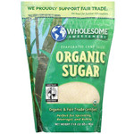 Wholesome Sweeteners Milled Unrefined Sugar (12x2 LB)