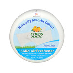 Citrus Magic Solid Air Freshener Pure Linen (6 Pack) 8 Oz