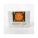 Zion Health Clay Bar Soap Golden Sun 10.5 Oz