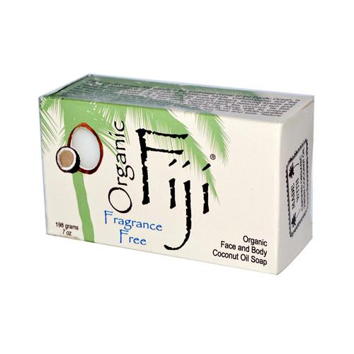 Organic Fiji Organic Virgin Coconut Oil Face and Body Soap 7 Oz