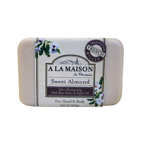 A La Maison Bar Soap Sweet Almond (8.8 Oz)