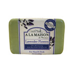 A La Maison Bar Soap Lavender Flowers (8.8 Oz)