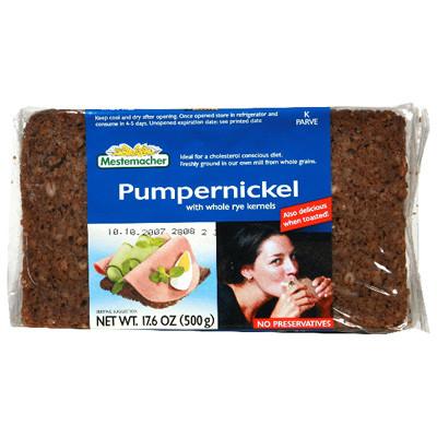 Mestemacher Pumpernickel Bread (12x17.6 Oz)