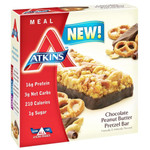 Atkins Advantage Bar Chocolate Peanut Btr Prtzl (6x 1.7 Oz)