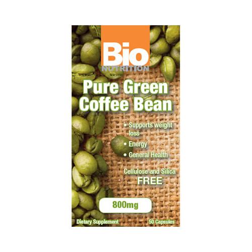 Bio Nutrition Pure Green Coffee Bean (1x50 Gelcaps)