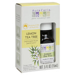 Aura Cacia Essential Oil Pure Lemon Tea Tree .5 fl Oz