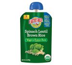 Earth's Best Baby Foods Spinach, Lentil, Brown Rice (12x3.5 OZ)