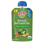 Earth's Best Baby Foods Broccoli, Red Lentil, Oat (12x3.5 OZ)