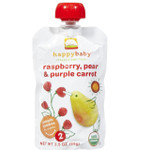 Happy Baby Pear, Raspberry & Purple Carrot (16x3.5 OZ)