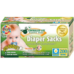 Green-n-Count Disposable Diaper Bags Scented (1x200 Count)