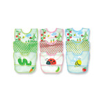 Green Sprouts Waterproof Bibs Garden Print (3 Pack)