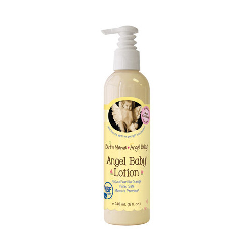 Earth Mama Angel Baby Lotion Vanilla Orange (8 fl Oz)