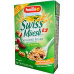 Familia Muesli Swiss Sugar Free (3x32 Oz)
