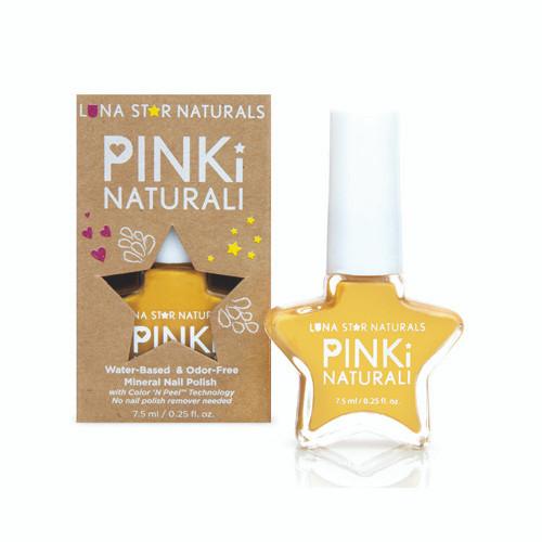 Lunastar Pinki Naturali Nail Polish Augusta (Sunflower Yellow) .25 fl Oz