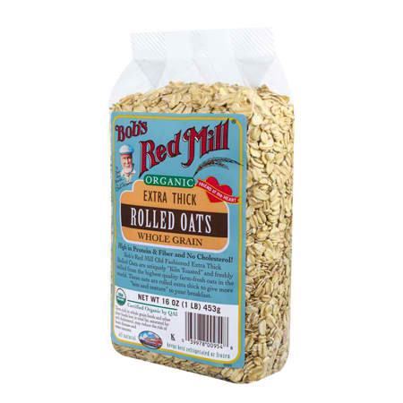Bob's Red Mill Regular Rolled Oats (4x32OZ )
