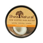 Shea Natural Whipped Shea Butter Coconut Ginger 6.3 Oz