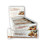 The Simply Bar Protein Bar Caramel and Peanut (15x 1.4 Oz)