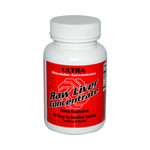 Ultra Glandulars Raw Liver Concentrate (8000mg 90 Tabs)