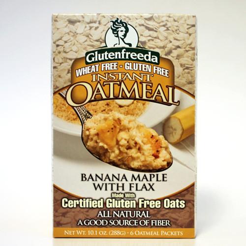 Glutenfreeda Oatmeal Ban Mple (8x10.5 Oz)