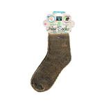 Earth Therapeutics Socks Infused Socks- Brown Pair
