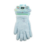 Earth Therapeutics Aloe Moisture Gloves Blue (1 Pair)