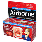 Airborne Effervescent Tablets with Vitamin C Very Berry (1x10 Tablets)