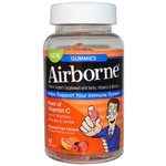 Airborne Vitamin C Gummies for Adults Assorted Fruit Flavors (1x42 Count)