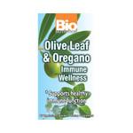 Bio Nutrition Immune Wellness Olive Leaf and Oregano (60 Veg Caps)