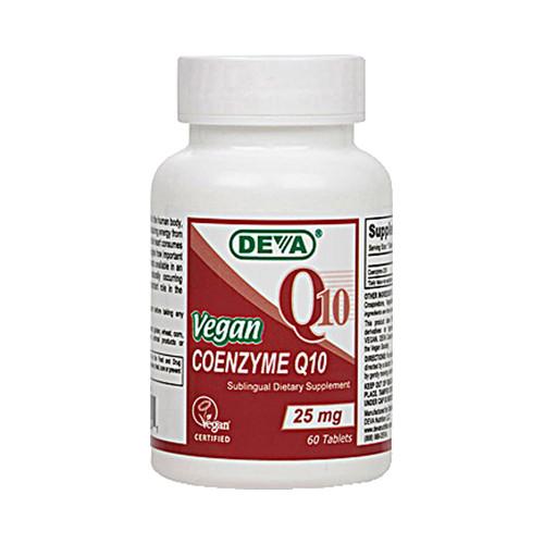 Deva Vegan Coenzyme Q10 25 mg (1x60 Tablets)