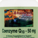 FoodScience of Vermont Coenzyme Q10 50 mg (1x 60 Tablets)
