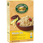 Nature's Path Whole O's Cereal Gluten Free (3x11.5 Oz)