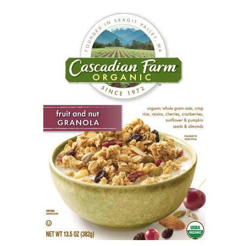 Cascadian Farm Fruit & Nut Granola (6x13.5OZ )