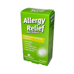 NatraBio Allergy Relief Non-Drowsy 60 Tablets