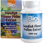 Bio Nutrition Inc Swedish Flower Pollen Extract 500 mg(1x 60 Veg Capsules)
