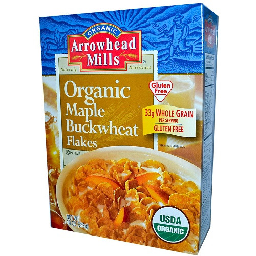 Arrowhead Mills Maple Buckwheat Flakes (3x12 Oz)