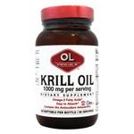Olympian Labs Krill Oil 1000 mg (60 Softgels)