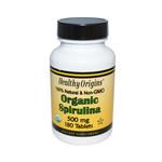 Healthy Origins Organic Spirulina 500 mg (1x180 Ct)