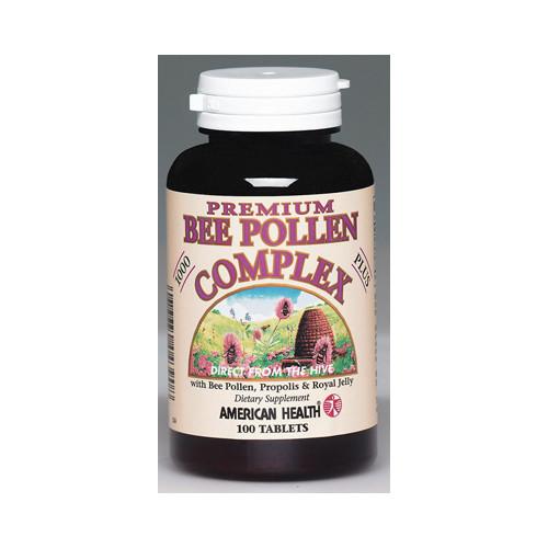 American Health Bee Pollen Complex 1000 mg (1x100 Tablets)