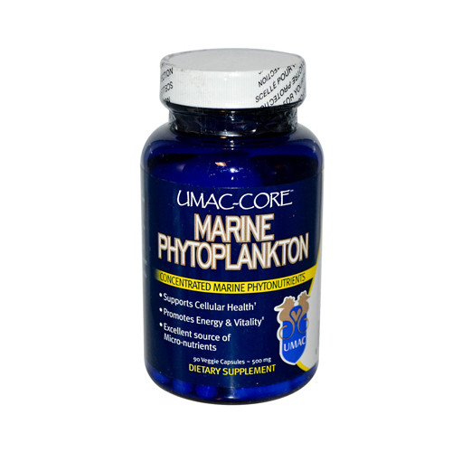 UMAC Core Marine Phytoplankton 500 mg (90 Veg Capsules)