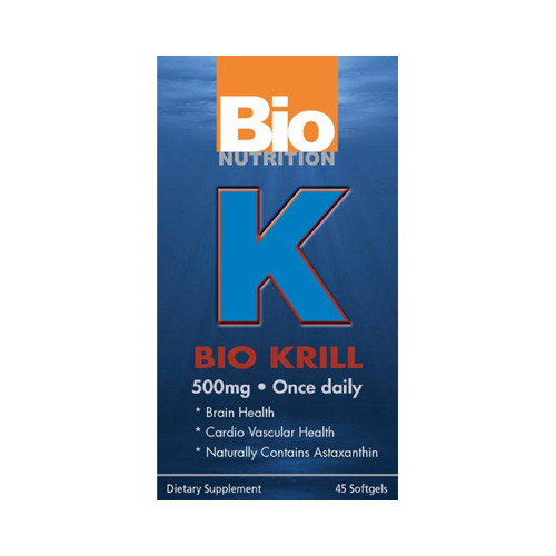 Bio Nutrition Bio Krill 500mg (1x45 softgels)