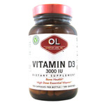 Olympian Labs Vitamin D3 3000 IU (100 Capsules)