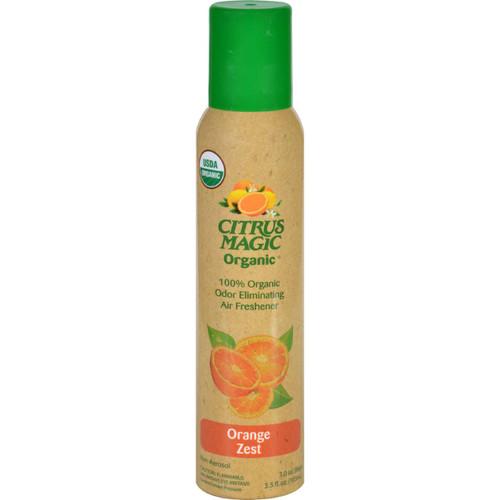 Citrus Magic Air Freshener Odor Eliminating Spray Fresh Orange 3.5 oz