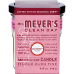 Mrs. Meyer's Soy Candle Cranberry Case of 6 4.9 oz Candles