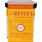 Mrs. Meyer's Soy Candle Orange Clove 4.9 oz
