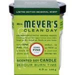 Mrs. Meyer's Soy Candle Iowa Pine 4.9 oz
