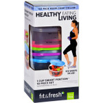 Fit and Fresh Containers Healthy Living Smart Portion 1 Cup Size 10 Pieces