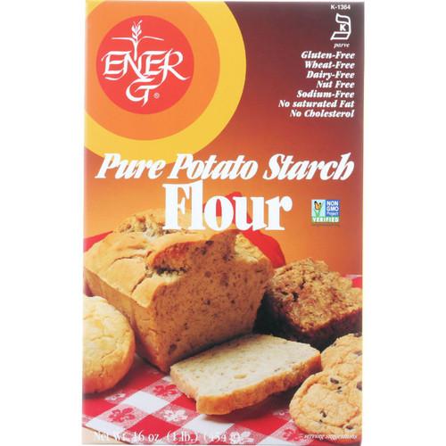 Ener G Foods Flour Potato Starch Pure 16 oz case of 12