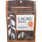 Navitas Naturals Cacao Beans Organic Raw 8 oz case of 12