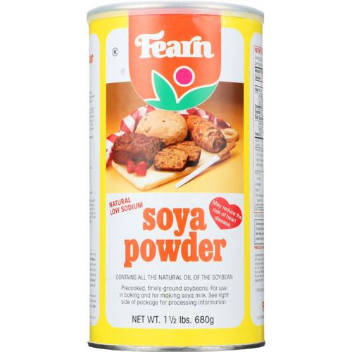Fearns Soya Food Natural Soya Powder 1.5 lb 1 each